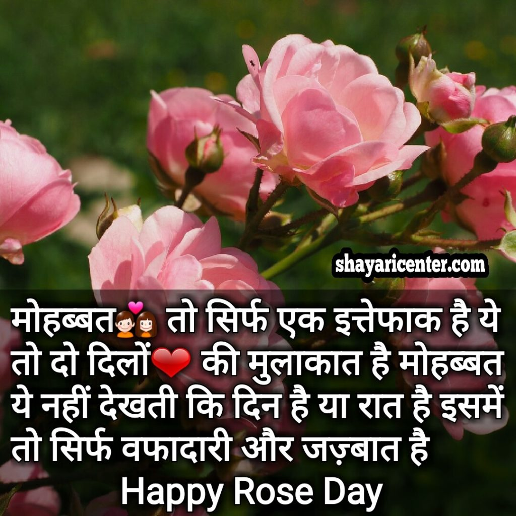 Wish you a very Happy Rose Day